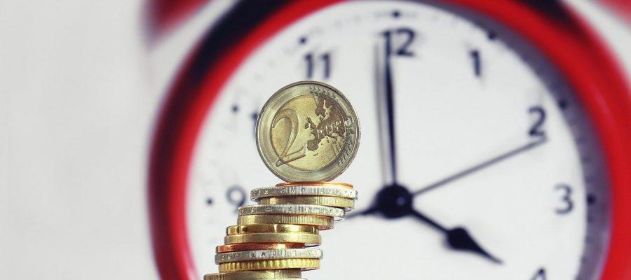 Coins Money Clock Hourly Wage Euro  - geralt / Pixabay